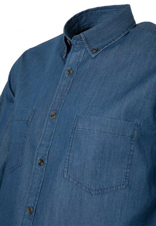 camisa denim mezclilla