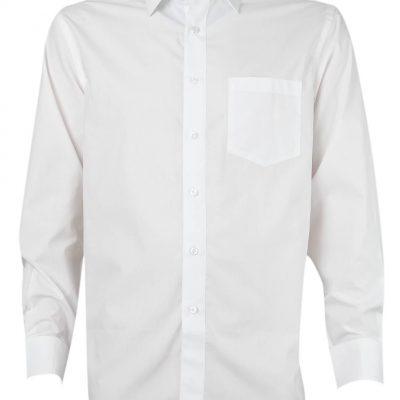 camisa trevira manga larga blanco