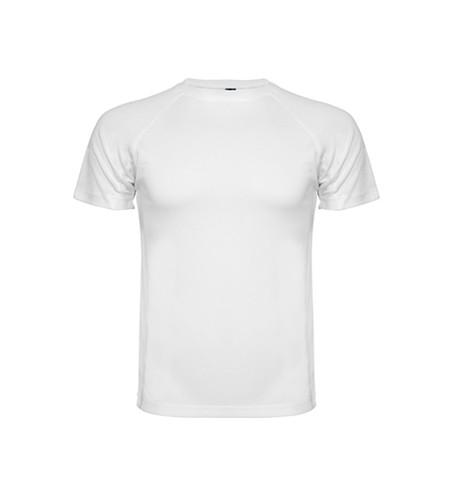 polera dry fit blanca