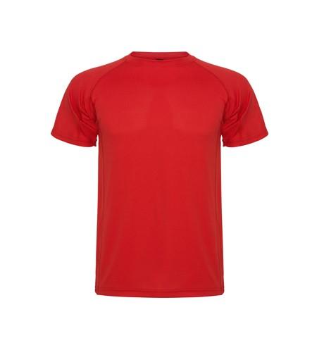 polera dry fit roja